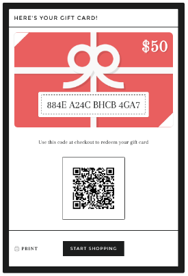 Online gift cards - Products - Shopify Help Center